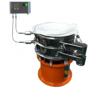 Big Circle Ultrasonic Vibration Sieve Shaker Machine for Chemical Powders SS304