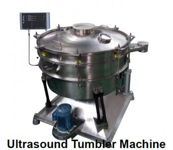 Big Circle Ultrasonic Vibration Sieve Shaker Machine for Chemical Powders SS304